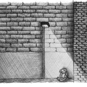 """Ballpoint Tales I  (1/6)"", Ballpoint Pen (2014), 29.7x42cm"