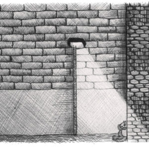 """Ballpoint Tales I  (2/6)"", Ballpoint Pen (2014), 29.7x42cm"
