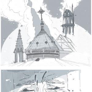 """Notre Dame Inferno I"""
