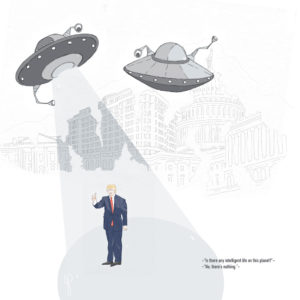 """Trump and Aliens"""
