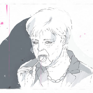 """Merkel and Lollipop"""