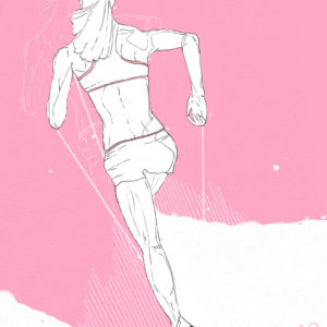 """Running Woman"""
